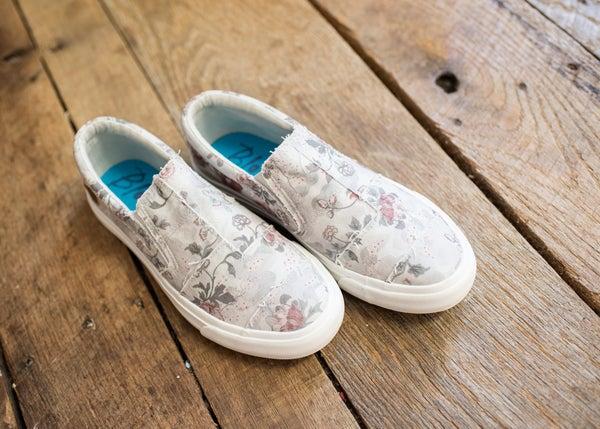 Floral Mix Slip on Sneaker