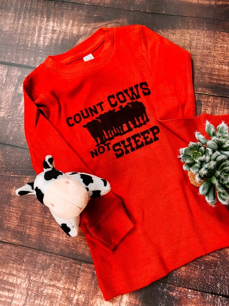 Count Cows PJ Set