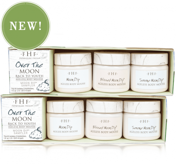 Over the Moon - Moon Dip Body Mousee Sampler Set