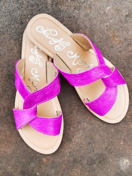 Hot Girl Summer - Fuchsia Sandal