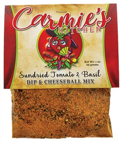 Sundried Tomato & Basil Dip & Cheeseball Mix