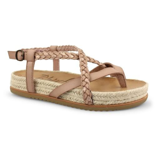 Braided Sandal w/ Jute Detail