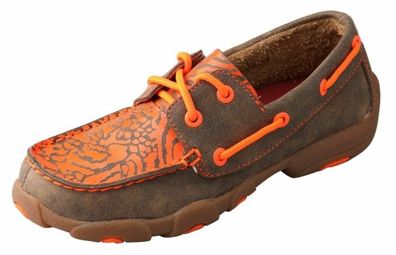 Orange Detail Shoe YDM0008
