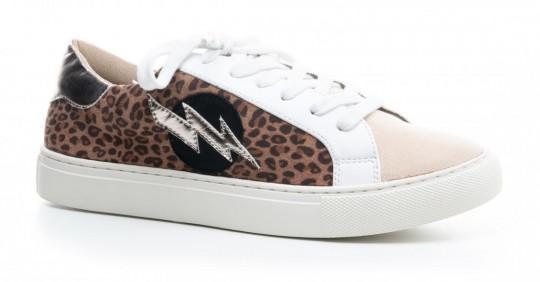 Bolt Leopard Sneaker