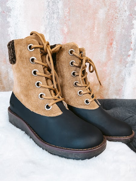 Lace Up Carmel Boot