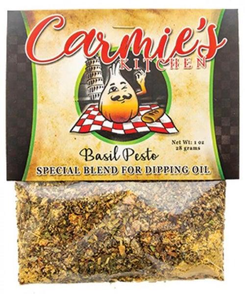 Basil Pesto Dipping Oil Mix