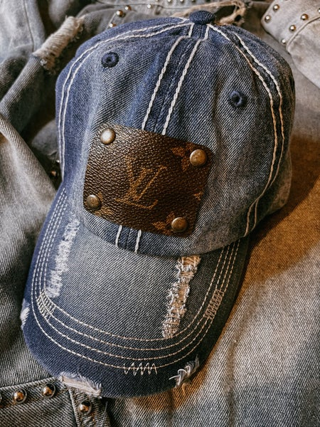 Upcycled LV Cap
