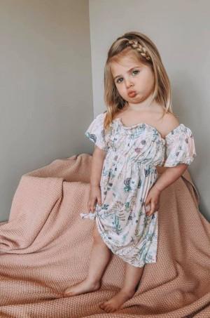 Child Off The Shoulder Dress