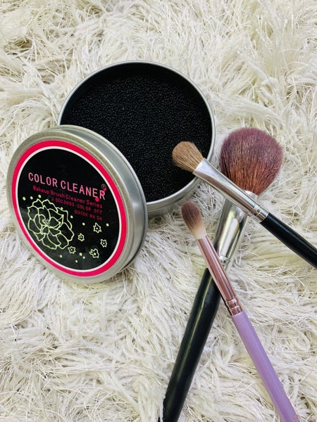 Makeup Brush Color Remover
