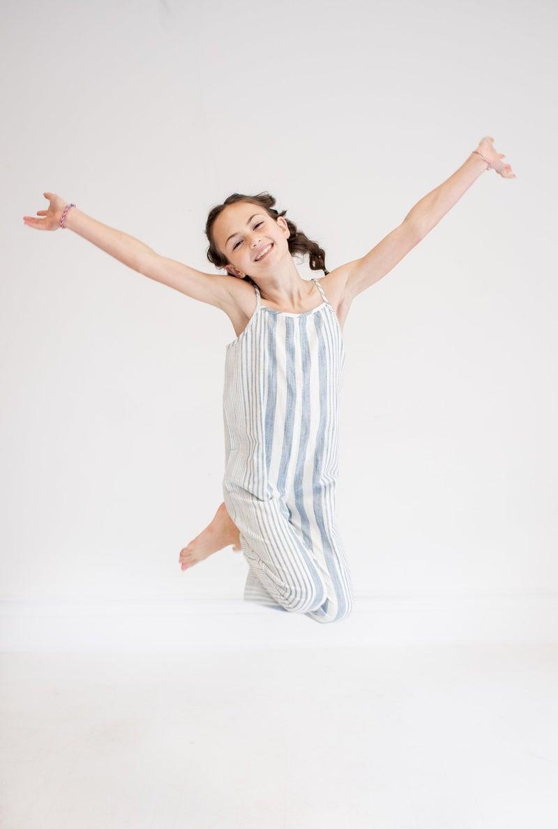 Kids Striped Jumpsuit