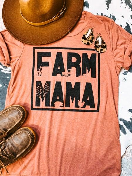 Mauve Farm Mama Tee