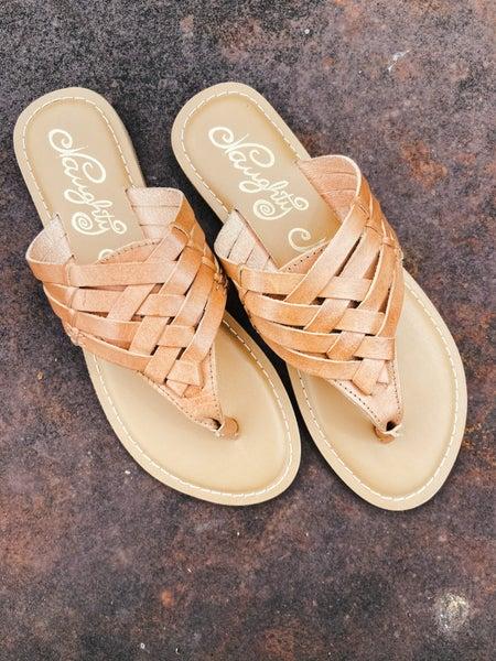 Natural Leather Sandal