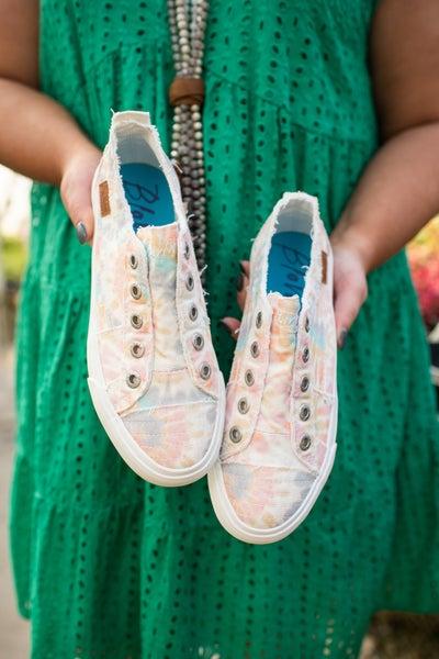 Pastel Tie Dye Sneaker