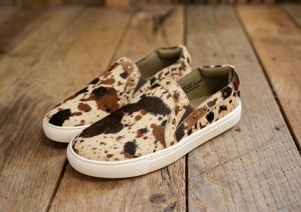 Multi Cow Slip On Sneaker