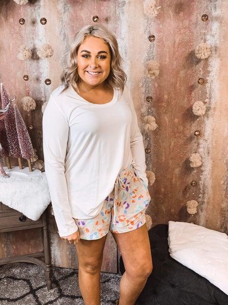 Colorful Cheetah Shorts