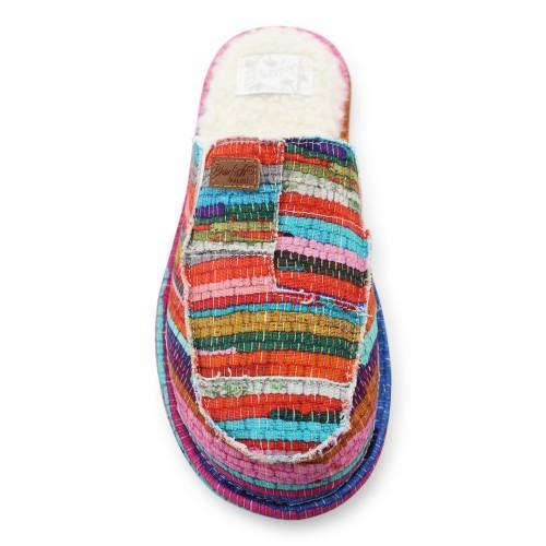 Multi Color Boho Slipper Inspired Shoe