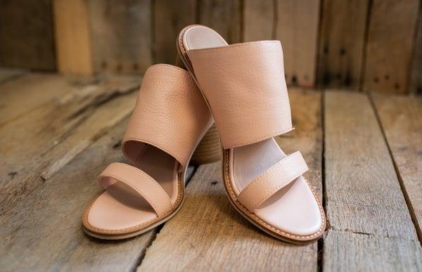 Light Pink Slide On Heel