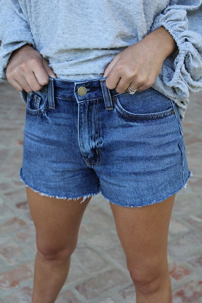 Blue Jean Baby Shorts
