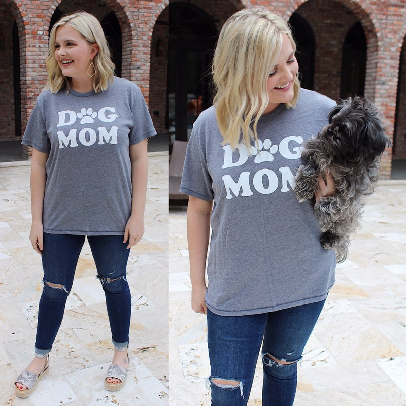 Dog Mom Tee *FINAL SALE*