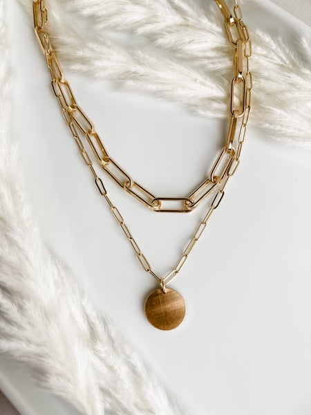 The Evelyn Layered Necklaced