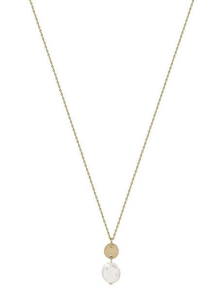 The Coined Pearl Necklace