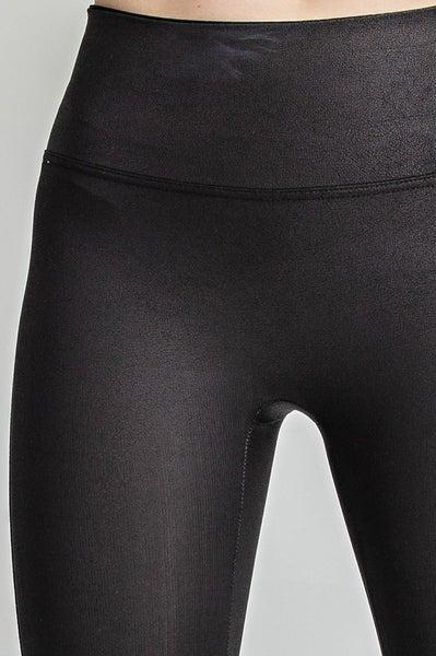 Tara Leather Leggings