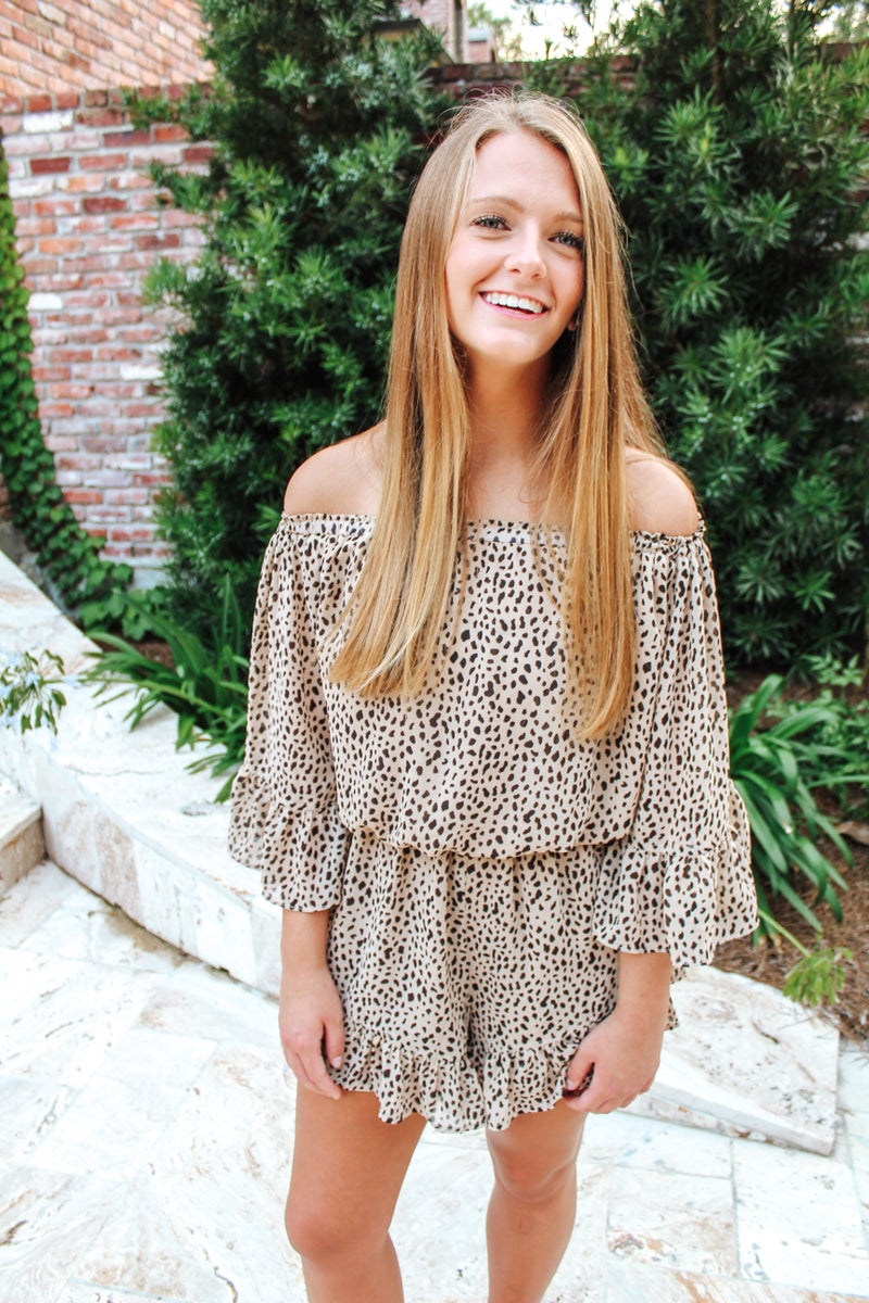 On My Mind Romper