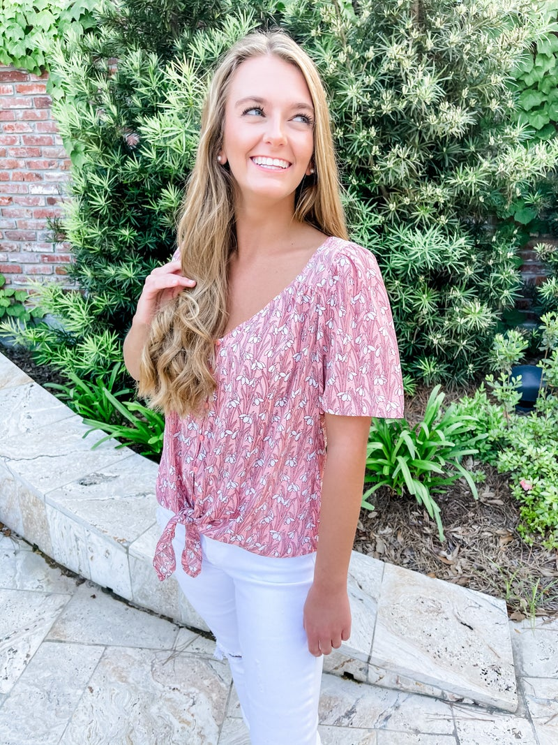 Rose' All Day Top