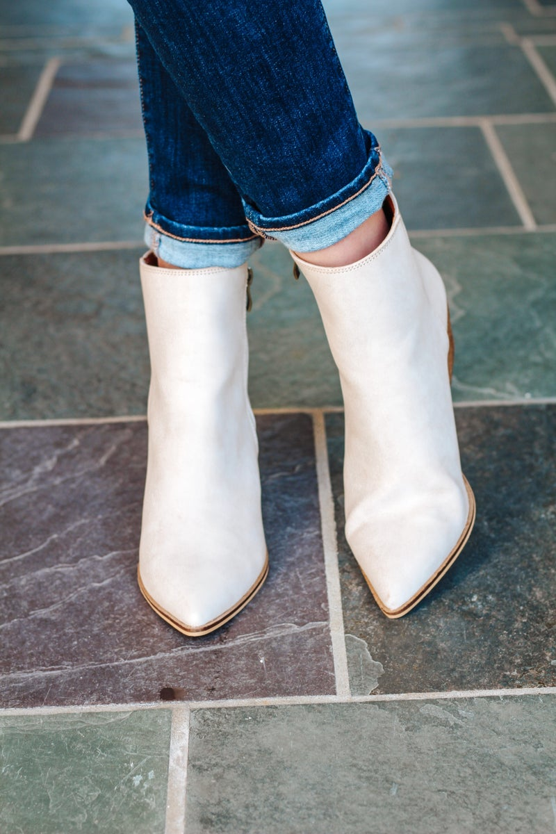 Sloane Sand Bootie