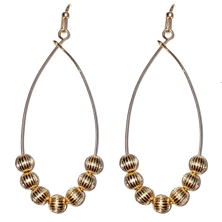 The Beaded Drop Earring