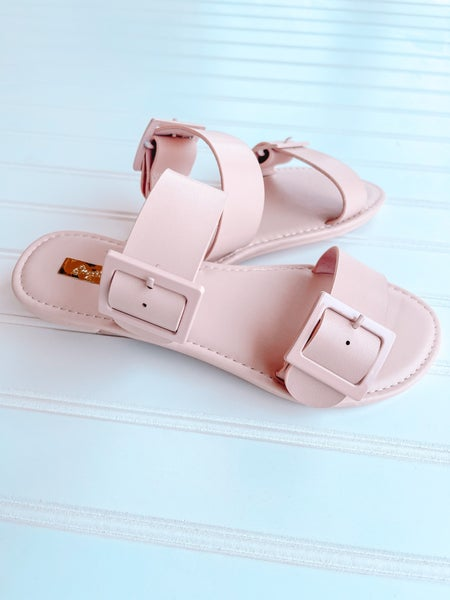 Sophia Blush Sandals