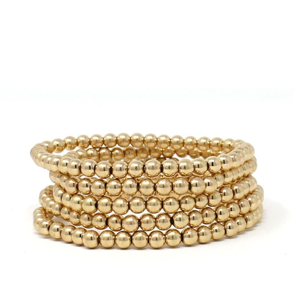 Set of 5 Beaded Bracelets