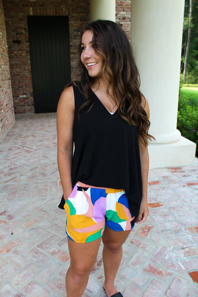 Pop of Color Shorts *FINAL SALE*