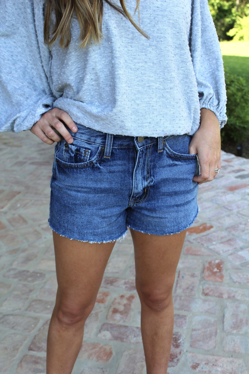 Blue Jean Baby Shorts *FINAL SALE*