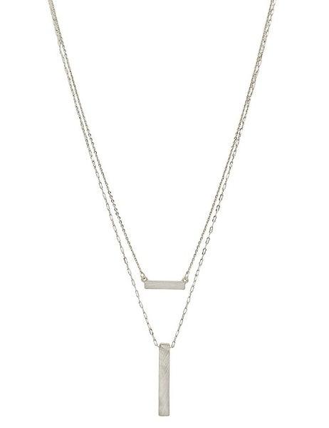 Bar Layered Necklace