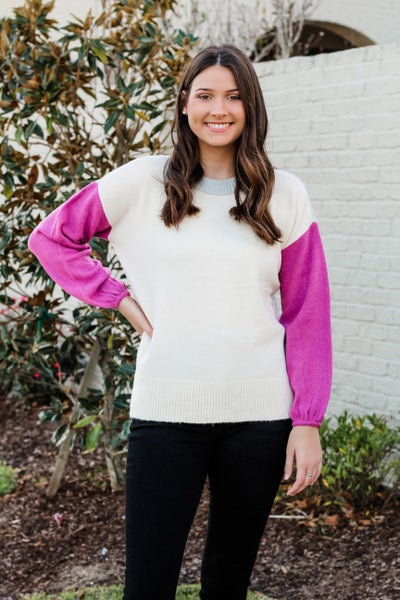 Color block Cutie Sweater