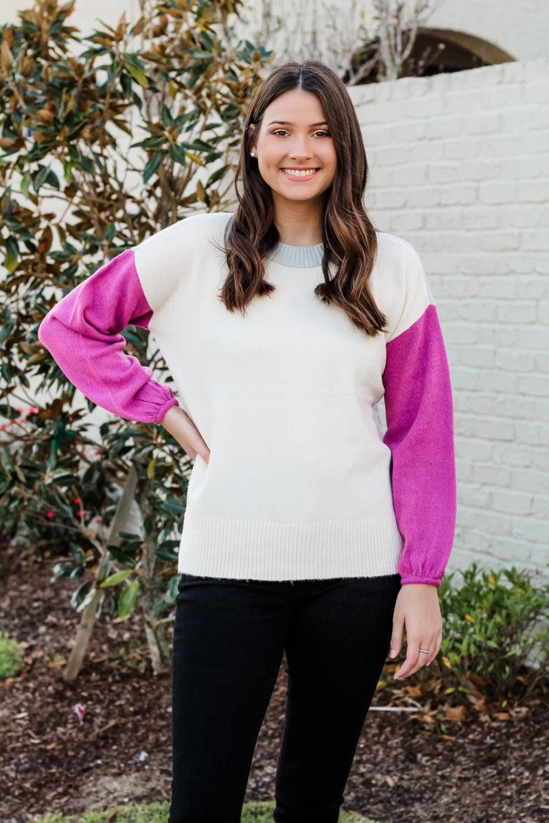 Colorblock Cutie Sweater *FINAL SALE*