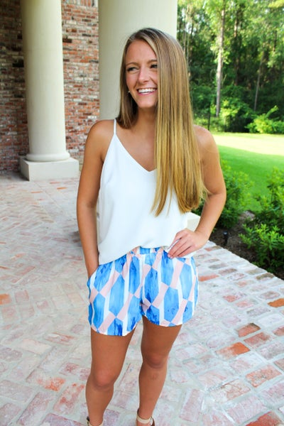Watercolor Shorts