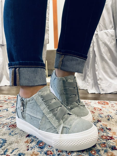 Blowfish Sweet Gray Mamba Sneaker