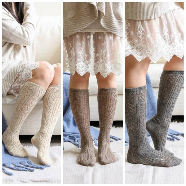 Classic Knit Calf Socks