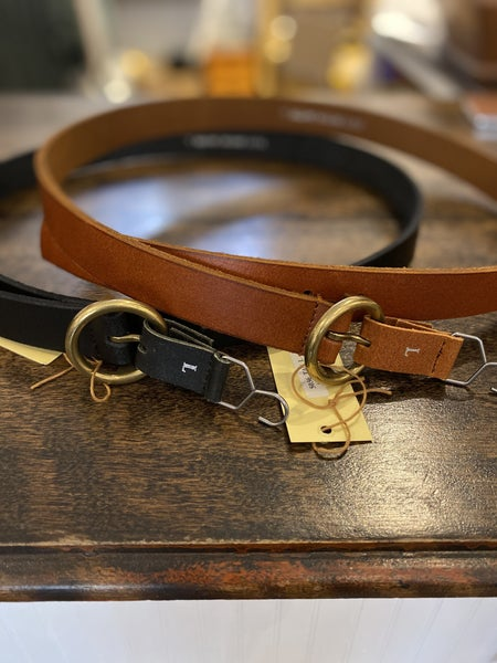 Copper Toned Circle Buckle Belt