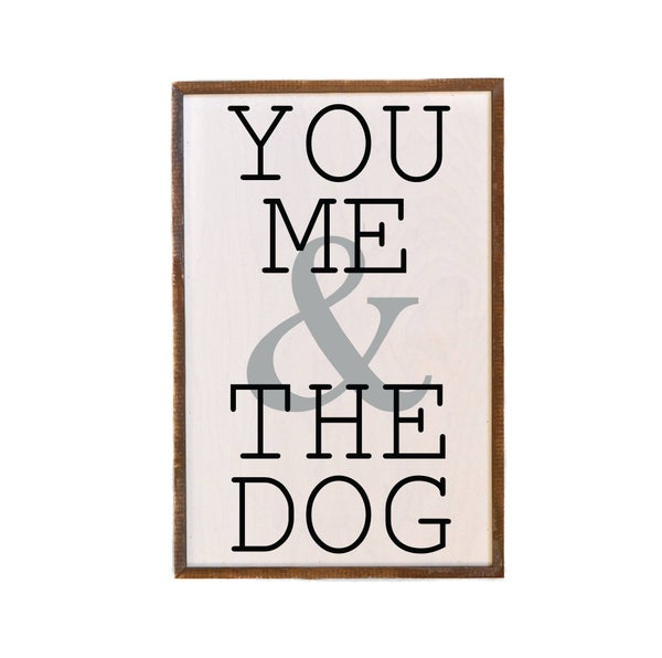 You Me & The Dog Wall Art