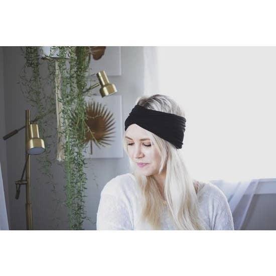 Black Wide Headband