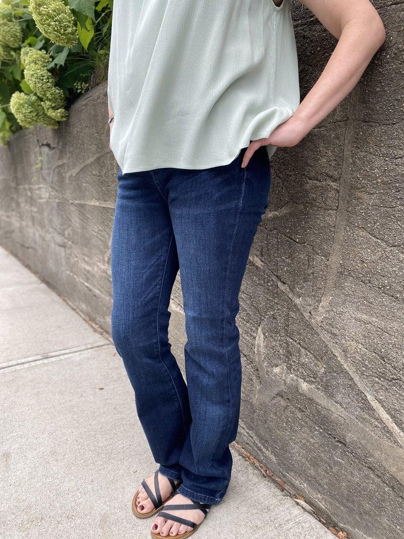 Judy Blue Hi-Waist Slim Bootcut