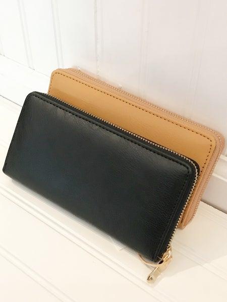 Single Zipper Wallet