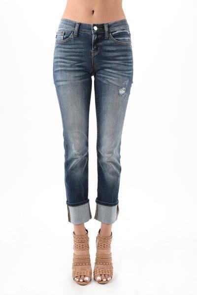Judy Blue Straight Leg Cuffed