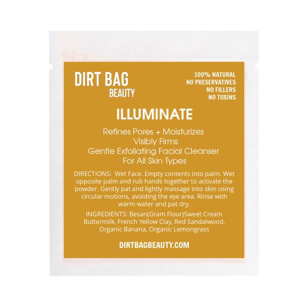 "Dirt Bag Beauty ""Illuminate"" Exfoliating Facial Cleanser"
