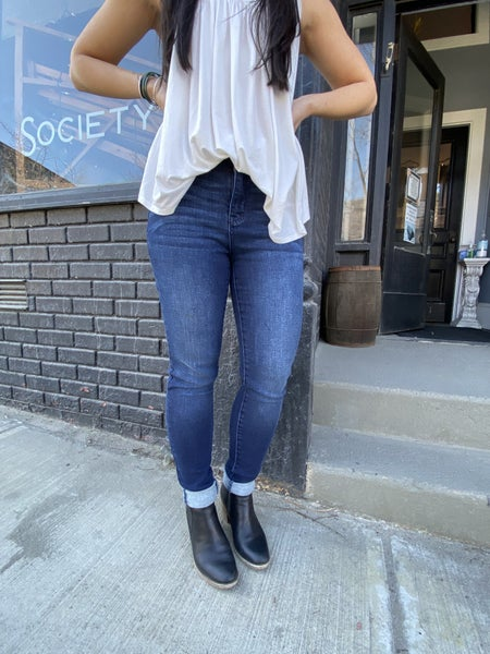Judy Blue Super Dark High Waisted Skinny