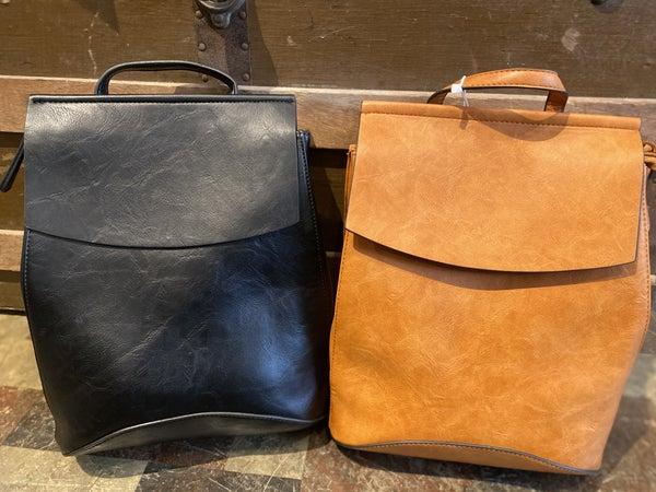 Convertible Flap Backpack Shoulder Bag