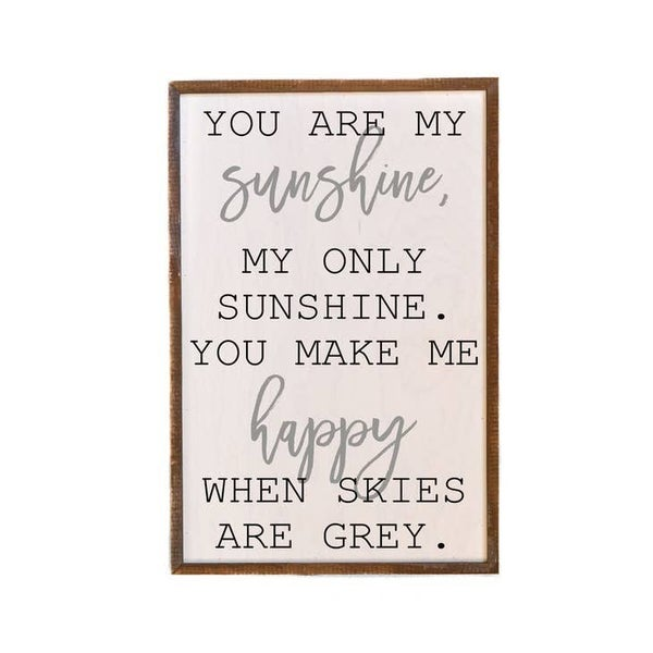 You are My Sunshine Wall Art